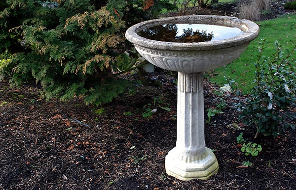 How about birdbaths for your garden?