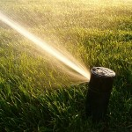 Setting up a lawn sprinkler timer