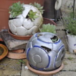 Upcycling Stuff from Your Home for the Garden